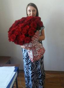 розы с доставкой кировоград