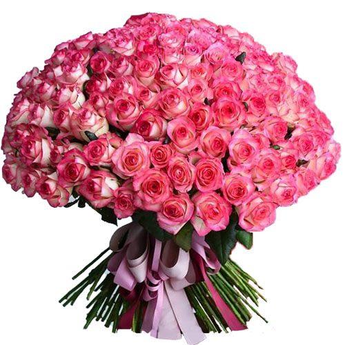 """Фото товара 101 роза """"Джумилия"""""""