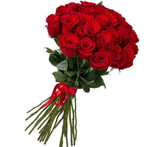 Фото товара 25 импортных роз