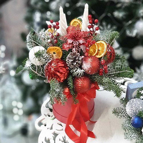 """Фото товара Коробка """"Рождественская вспышка"""""""