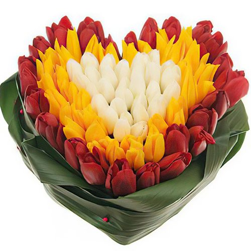 "Фото товара 151 тюльпан ""Краски весны"""