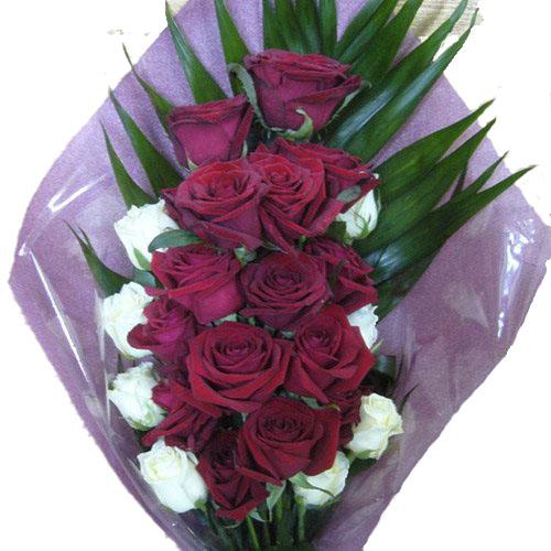 """Фото товара Букет """"Ореол"""" 22 розы"""