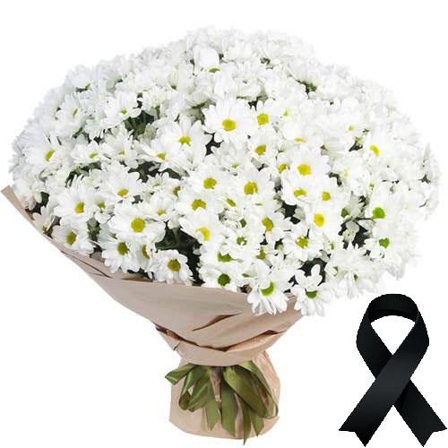 Фото товара 100 ромашек на похороны