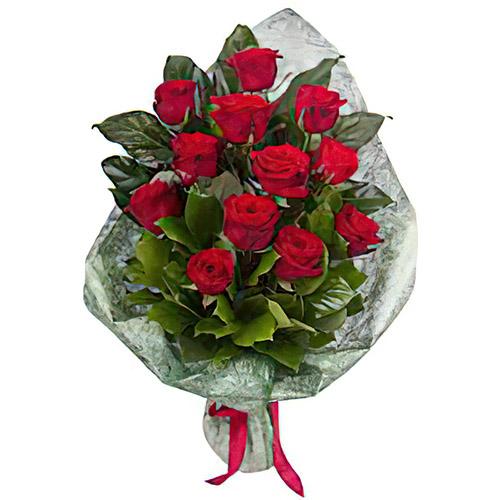 Фото товара 12 красных роз