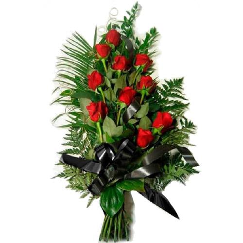 Фото товара 10 красных роз